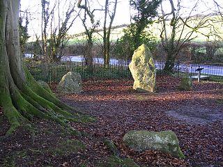 Nine Stones, Winterbourne Abbas Stone circle in Dorset, southwestern England