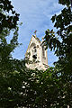 The bell tower on Swedenborg Chapel in Cambridge, Mass..JPG