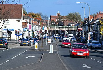 Narborough Road - Image: The busy Narborough Road geograph.org.uk 1022451