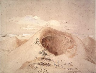 The crater of Rangitoto Island, 960 ft. high. no. 1