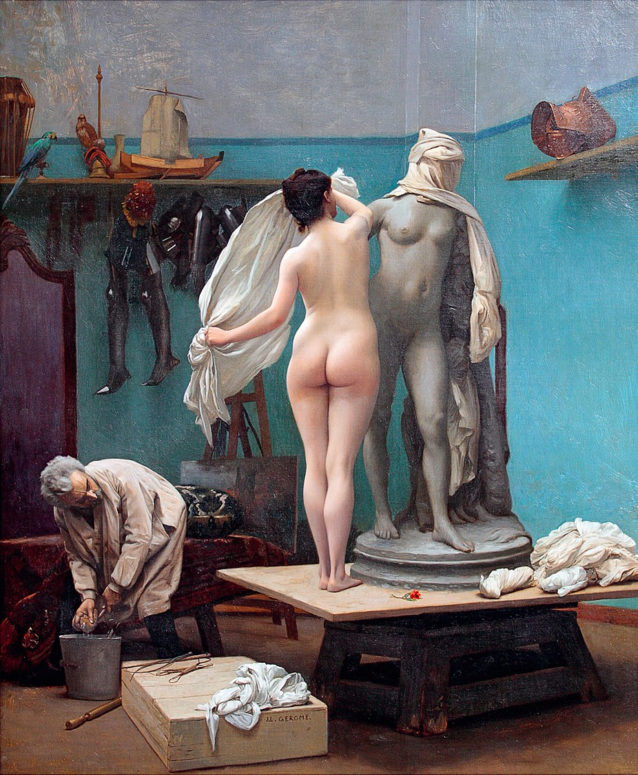 The end of the pose, by Jean-Léon Gérôme.jpg