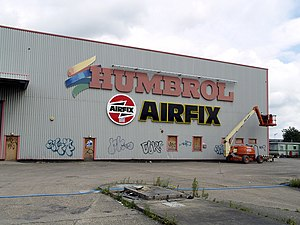 Airfix - Former Humbrol factory in Kingston upon Hull.