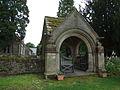 The lychgate of St Mungo's Church, Simonburn.jpg
