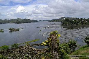 Lake Sebu - Image: The picturesque view of Lake Sebu