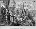 The plague in Winterthur in 1328. Lithograph by A. Corrodi, Wellcome L0004056.jpg