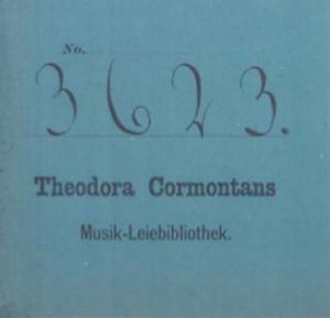 Theodora Cormontan - Image: Theodora Cormontan library