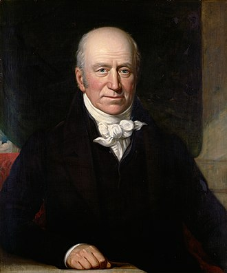 Thomas Andrew Knight - Thomas Andrew Knight, portrait by Solomon Cole (1806–1893), collection of Royal Botanic Gardens, Kew