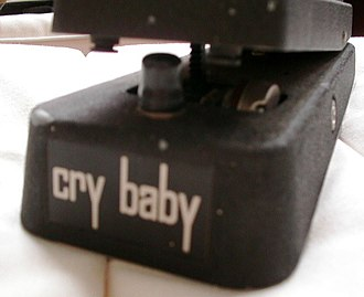 Wah-wah pedal - Thomas Organ Cry Baby (1970) manufactured by JEN