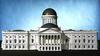 William Thornton - Thornton's original Capitol Building design