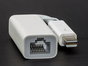 Thunderbolt (interface) - Thunderbolt Ethernet adapter