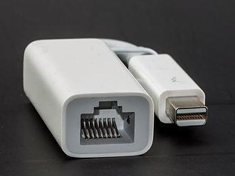 Thunderbolt (interface) - Thunderbolt Ethernet adapter