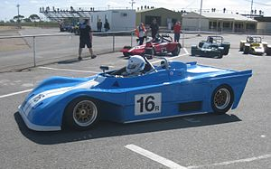 Tiga Race Cars - Image: Tiga SC83 Sports 2000 (1983) of Malcolm Miller