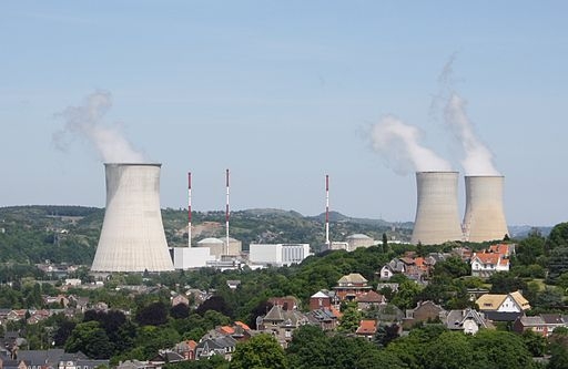 Tihange - nuclear power plant