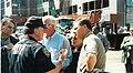 Tim Roemer, NYPD Officer, Saxby Chambliss, Jane Harman, and Richard Burr.jpg
