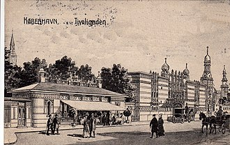 Bernstorffsgade - Image: Tivoligaden (J. L. Ridter)
