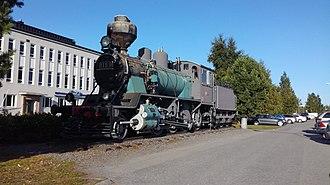 Kokkola - Steam locomotive VR Class Tk3 1105 at Kokkola