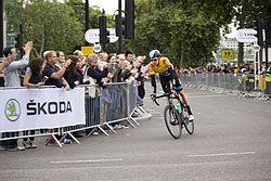 Sir Bradley Wiggins after the final stage