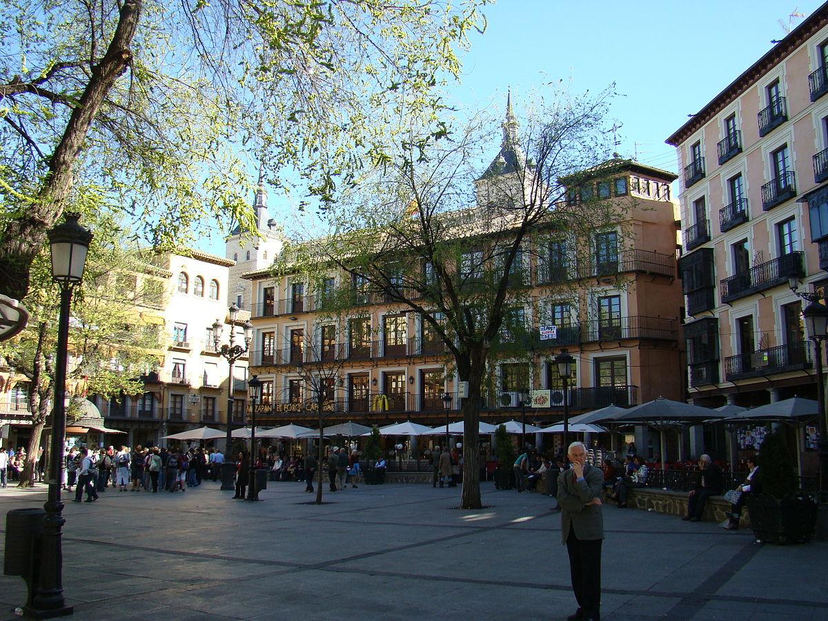 Plaza de Zocodover - Wikipedia, la enciclopedia libre