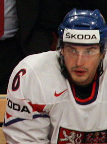 Tomáš Mojžíš - Czech national ice hockey team IHWC 2012.jpg