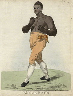 Tom Molineaux American boxer