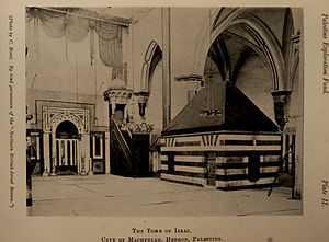 Cave of the Patriarchs - Tomb of Isaac, c. 1911