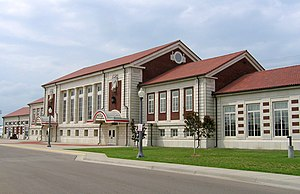Great Overland Station - Image: Topeka, KS Overland Station (511631948)
