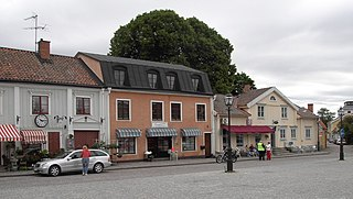 Skänninge Place in Östergötland, Sweden