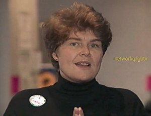 Torie Osborn - Torie Osborn at the 1993 National Gay and Lesbian Task Force's Creating Change Conference.