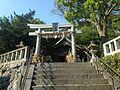 Torii of Sansho Shrine in Miyanoura, Nishi, Fukuoka.JPG