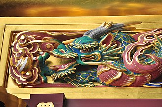Hidari Jingorō - Image: Toshogu Shrine Karamon (Chinese style gate) 02 (15567616950)