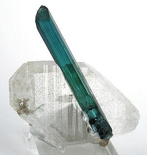 Elbaite - Image: Tourmaline Quartz 214670