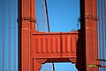 Tower and cables of the Golden Gate bridge in San Francisco 73.jpg