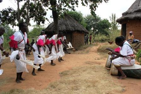 Traditional Kamba dance