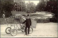 Traian Vuia 1, world's first fully self-propelled aircraft flew in March 1906.