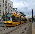Tram in Warsaw, Pesa Tramicus 120N n°3110.jpg