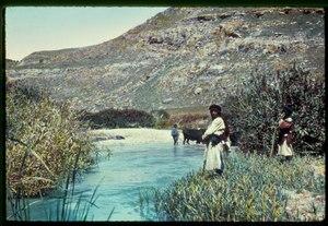 Trans Jordan. River Jabbok near Zerka. Gen 32-22 LOC matpc.22908.tif