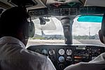 Transavia Boeing 737 at Bauerfield Airport.jpg