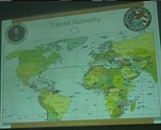 Blarney (code name) - Image: Transit authority map Crop