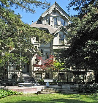 California College of the Arts - Treadwell Mansion (Oakland, CA)