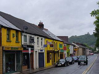 Treforest Village in Wales