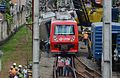 Trem descarrila na estação Itaim Paulista 01.jpg