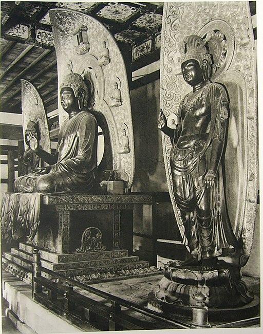 Triad of Yakushi Nyorai