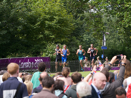 Triathletes, Olympics, London 2012.jpg