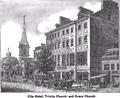 Trinity Church, City Hotel, Grace Church.png