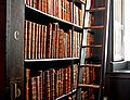 Trinity College Library-words in leather and wood.jpg