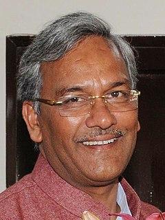 Trivendra Singh Rawat Indian politician