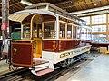 Trolley in the History Park Trolley Barn (16702903140).jpg