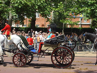 Phaeton (carriage) - Trooping the Colour in 2009