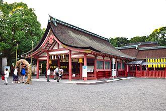 Tsushima, Aichi - Image: Tsushimajinja 4