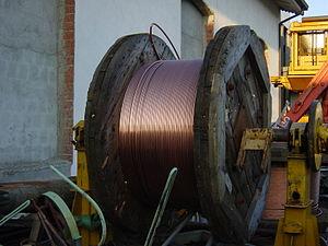 Copper conductor - Copper cable.